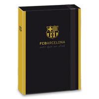 Barcelona f�zetbox - A4 - fekete
