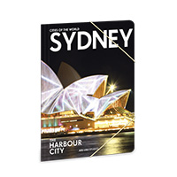 Cities - Sydney gumis mappa A4
