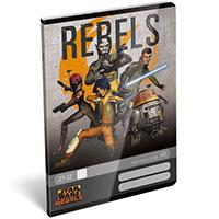 1 darab Star Wars Rebels füzet - kockás füzet (szürke)