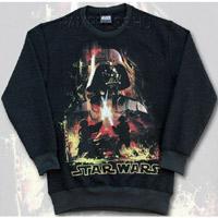Star Wars felső - hosszúujjú - melír fekete 28f44c54eb