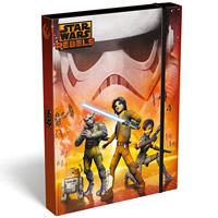 Star Wars Rebels füzetbox - Orange - A5