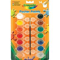 Crayola lemoshat� tempera - 14 db-os
