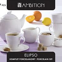 Elipso kávés/teáskészlet - 17 részes