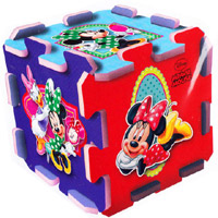 Minnie Mouse szivacs puzzle - Trefl