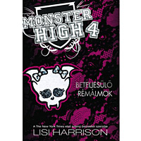 Monster High Beteljes�l� r�m�lmok k�nyv