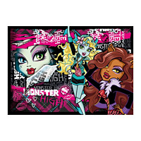 Monster High Mind�r�kk� Bar�tok puzzle - 500 db-os puzzle -Clementoni