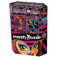 Monster High Toralei �s Robecca holografikus puzzle - 50 darabos