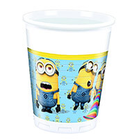 Minions parti pohár - 8 darabos