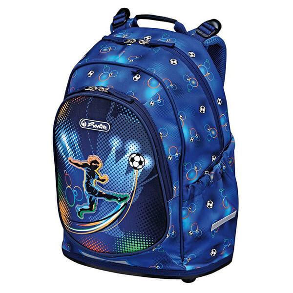 f82ec4af0d55 Herlitz Bliss ergonómikus Iskolai hátizsák - Soccer focis - 50008124 -