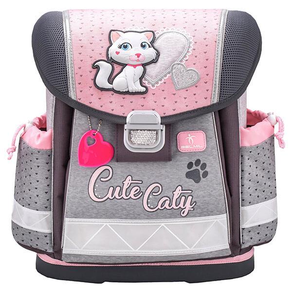 55e42d4807d8 Belmil Cicás Ergonomikus iskolatáska - Cute Caty - 403-13CUTECATY -
