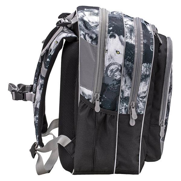 df12954ef6ae Belmil ergonomikus iskolai hátizsák - Wolves Grey