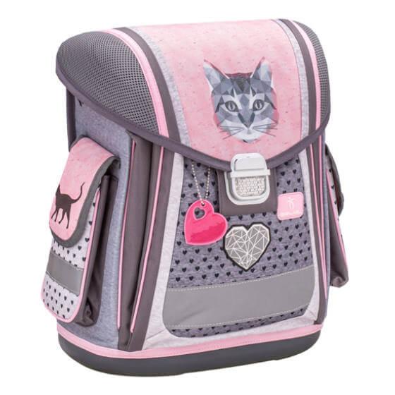 fbe299d57343 Belmil Ergonómikus iskolatáska - Cute Cat cicás - JS-ITAIT3460-806392 -