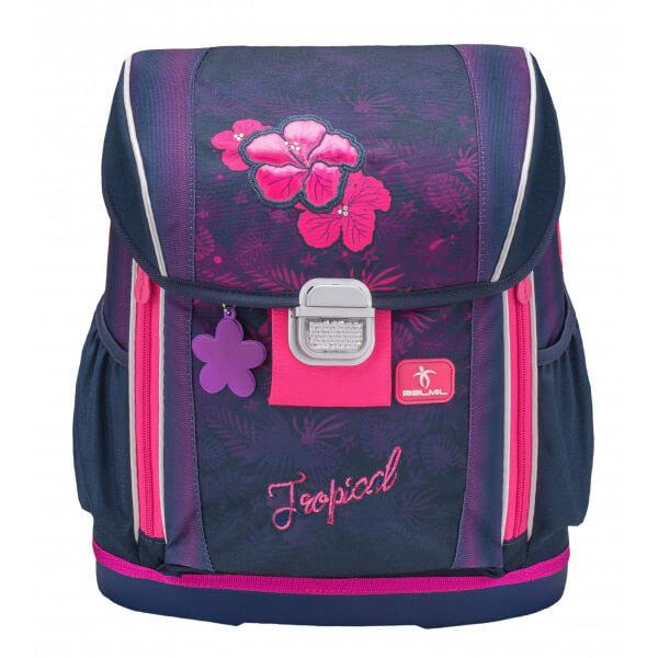 57462035d882 Belmil Ergonomikus iskolatáska - hátmagassághoz állítható - Flamingo ...