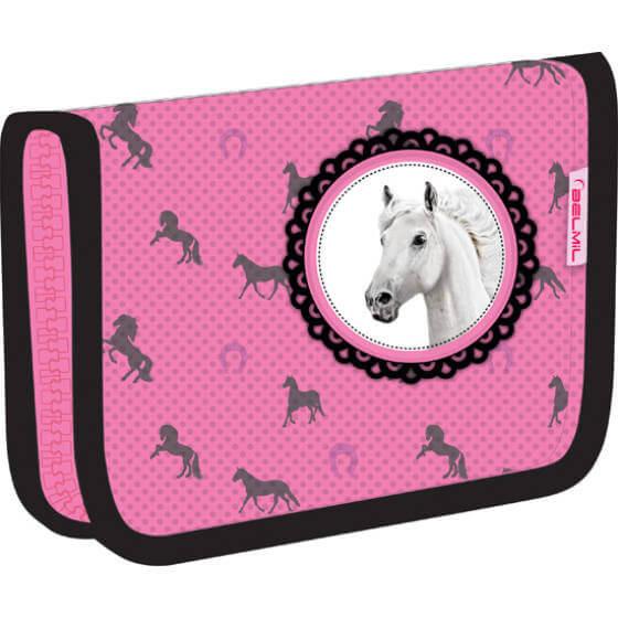 Belmil kihajthatós tolltartó - Riding Horse lovas 5a9a0a57ec