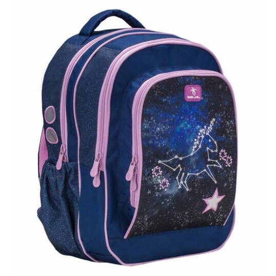 5456fbcb8731 Belmil Speedy iskolai hátizsák - Flying to the Stars - Egyszarvú csillagos