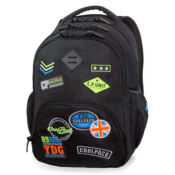 43fc80f40965 Cool Pack Badges Bentley hátizsák laptoptartóval - 30 literes - Badges Black