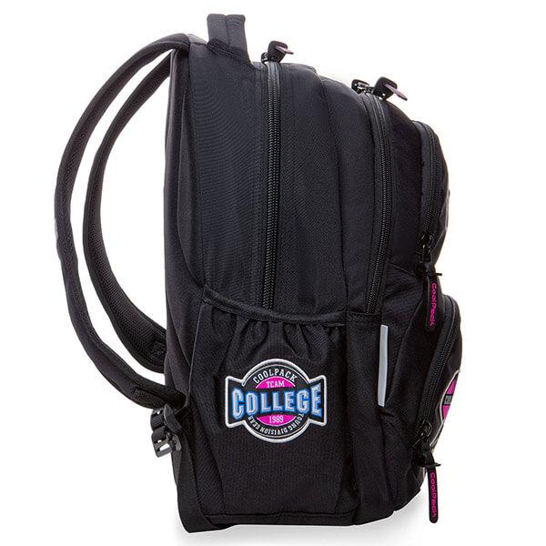 209870d83dcc Cool Pack Badges Girls Dart iskolai hátizsák - Black