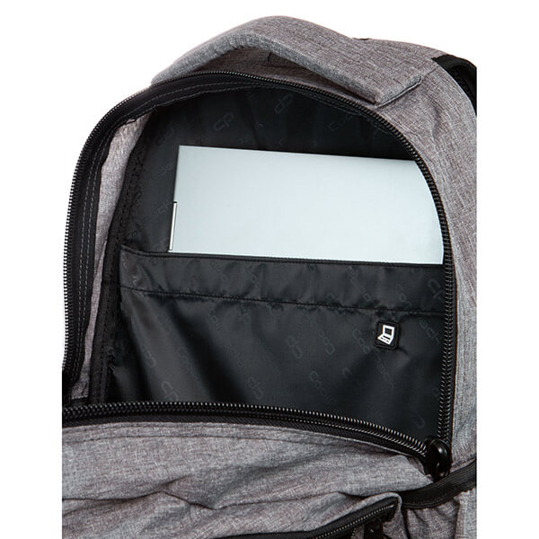 5eb4e3cc4191 Cool Pack Badges Girls Dart iskolai hátizsák - Grey
