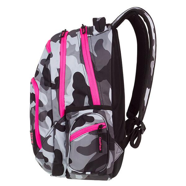 60ad175fb21d Cool Pack Break Terepszínű iskolai hátizsák - 29 literes - Camo Pink Neon