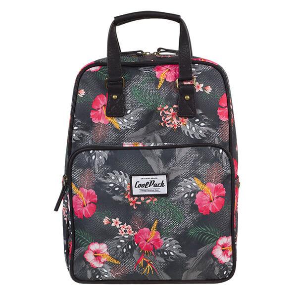 Cool Pack Cubic hátizsák kézitáska - Coral Hibiscus - 12317CP - ef52543463