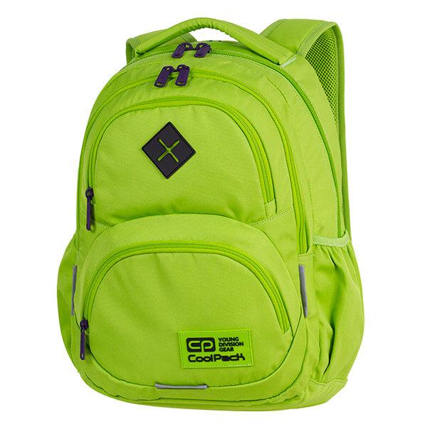 dec7a66de0c7 Cool Pack Dart iskolai hátizsák - 27 literes - zöld