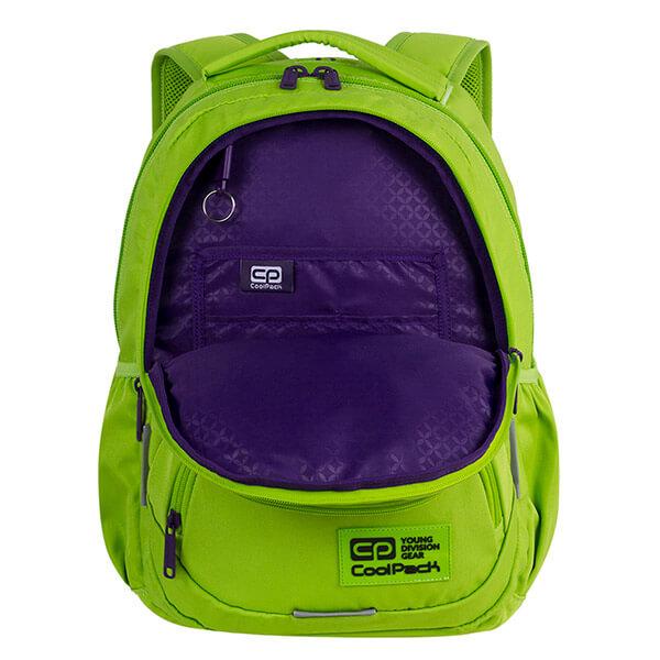 b06f1c4dd438 Cool Pack Dart iskolai hátizsák - 27 literes - zöld. -22%