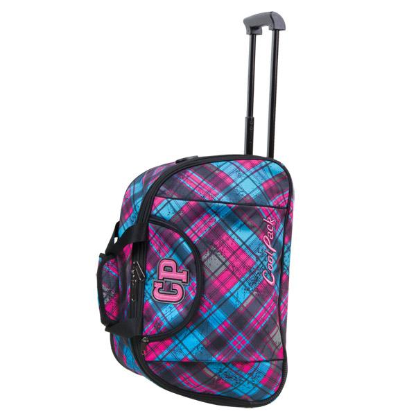 Cool Pack kerekes utazótáska - 46 cm - pink/kék