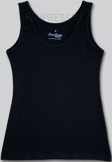 Női elasztikus trikó - fekete - ATPAM50222 - bf51aefa2b