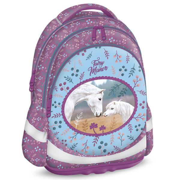 Fairy Manor lovas Anatómiai iskolatáska 4caca9a730