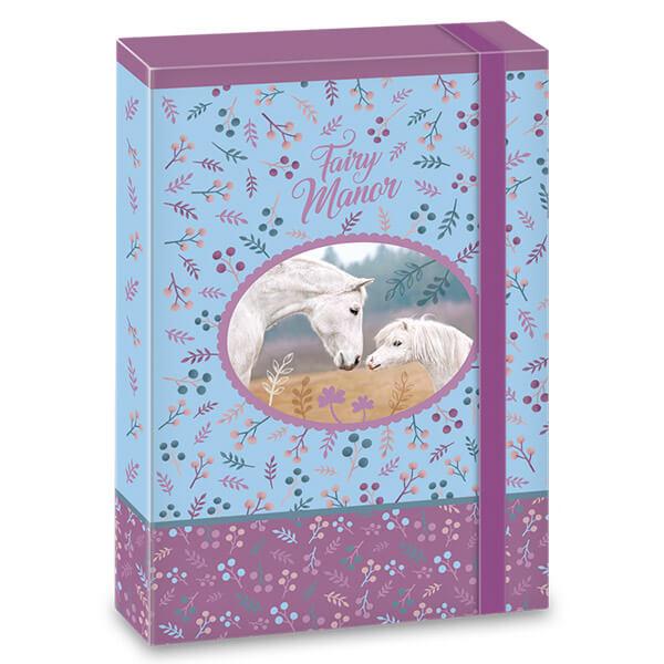 Fairy Manor lovas füzetbox - A4 33674cc55e