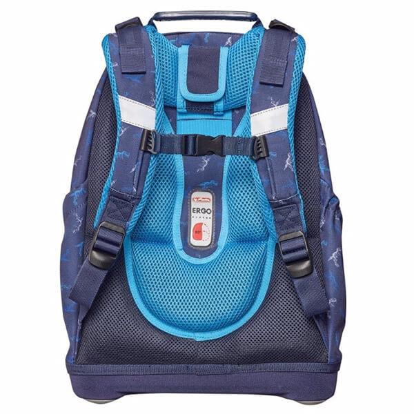98243a811d7e Herlitz Bliss ergonomikus iskolai hátizsák - Blue Dino