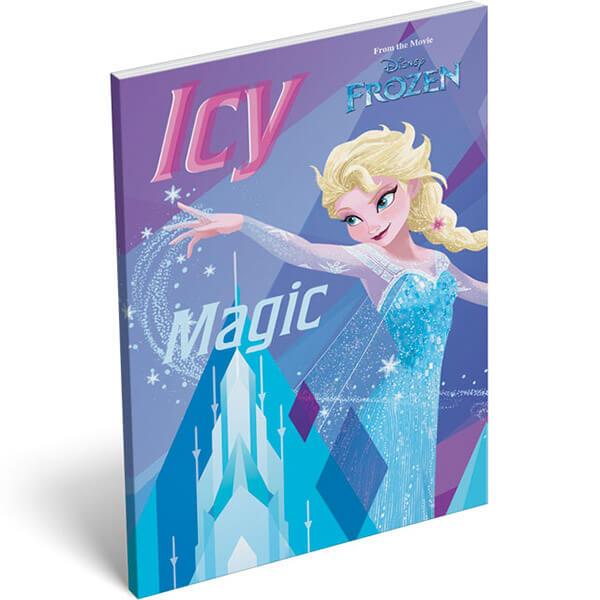 Jégvarázs papírfeleles notesz - A6 - Frozen Ice 00af7948df