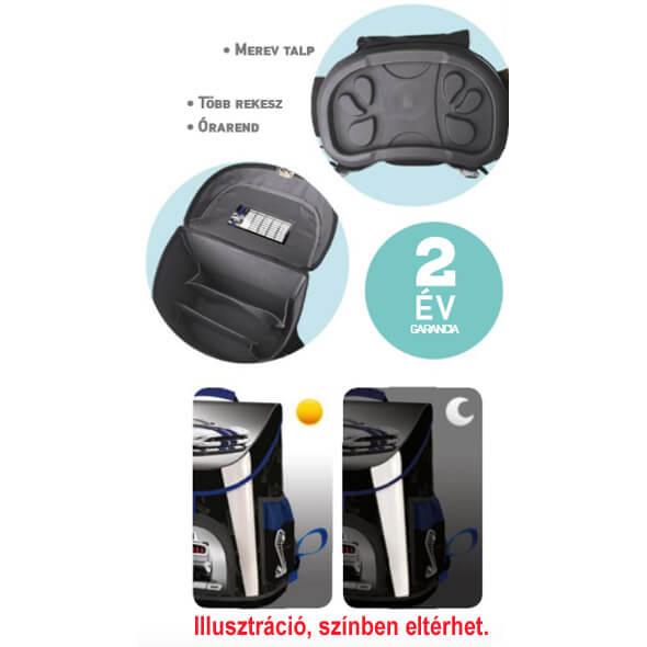 67d97c9250f7 Jégvarázs Prémium ergonomikus iskolatáska