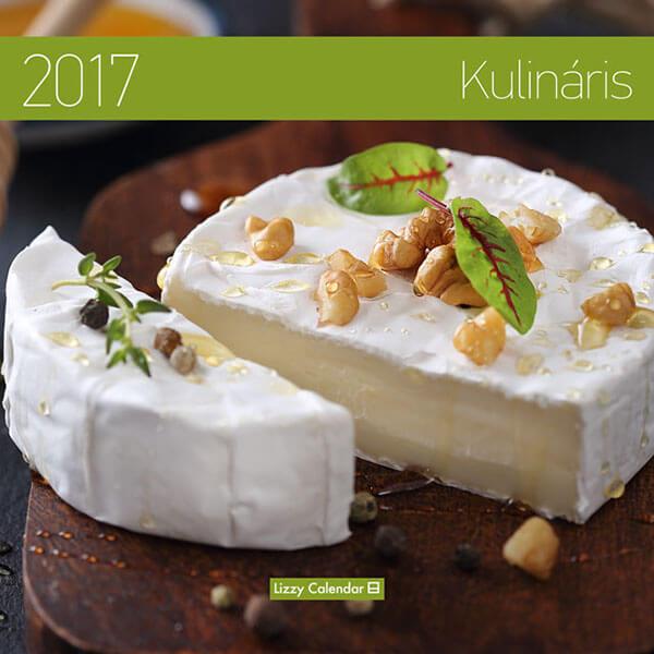 Kulinaris közepes lemeznaptár 2017