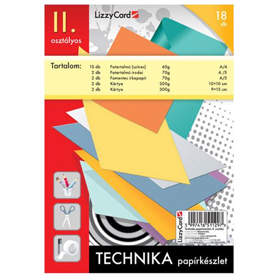 Technikai papírkészlet 2. osztályos csomag