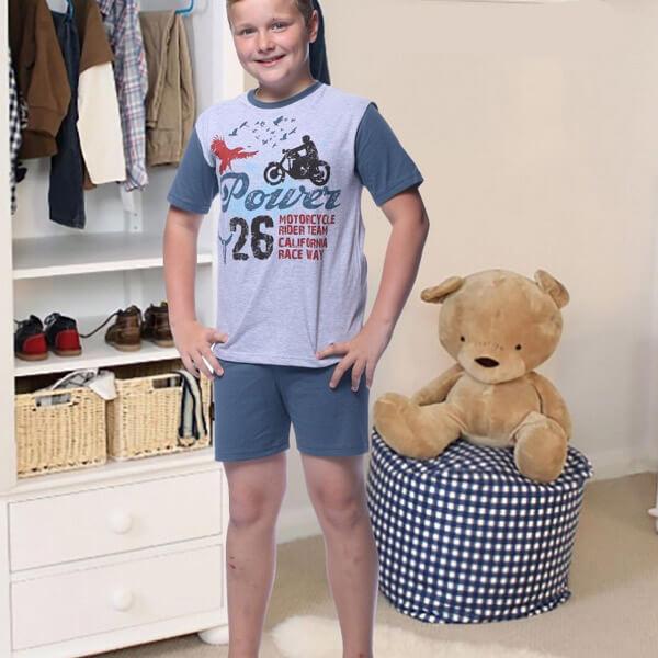 Motoros pizsama - nyári pizsama de4b37ad37