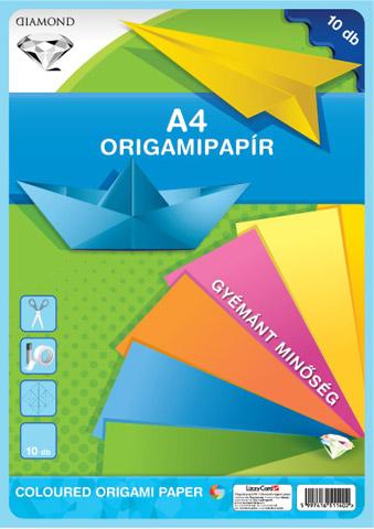 Origami papír A4 - 10 lap