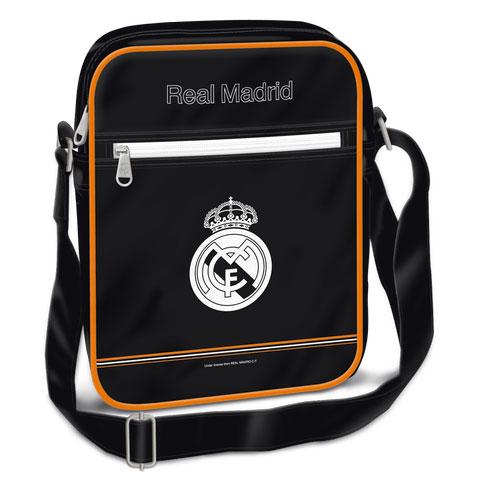 Real Madrid álló oldaltáska - műbőr