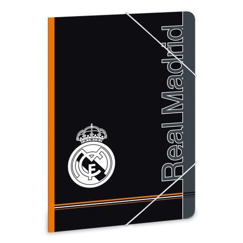 3cef98db023e Real Madrid gumis mappa - A5 - fekete/narancs