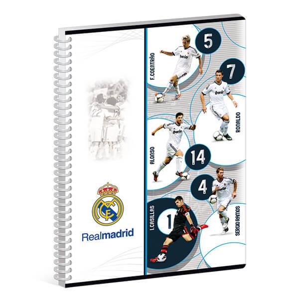 9e7eea01e868 Real Madrid spirálfüzet - A4 - sima