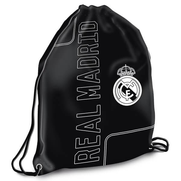 abd0f69c2102 Real Madrid tornazsák / sportzsák - fekete