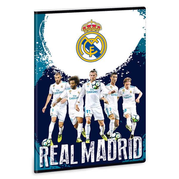 2918afc93610 Real Madrid vonalas füzet - A4 - focisták