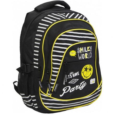 4414def47c75 Smiley iskolai hátizsák - 46x20x32 cm