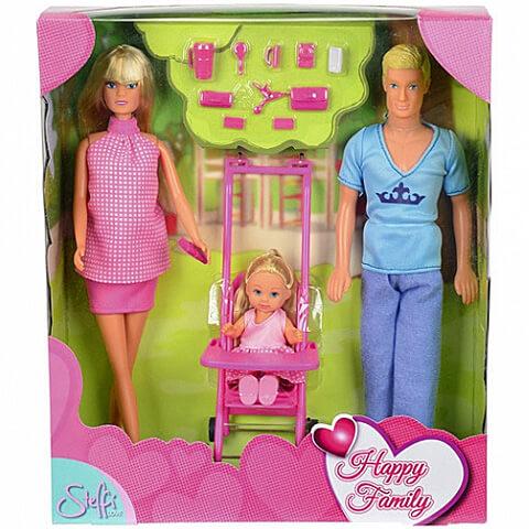 5b05d80082a1 Steffi Love: Boldog család babaszett - Simba Toys