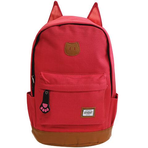 5e06c188f0a3 Street Cat cicafüles pink iskolai hátizsák - JS-53368 -