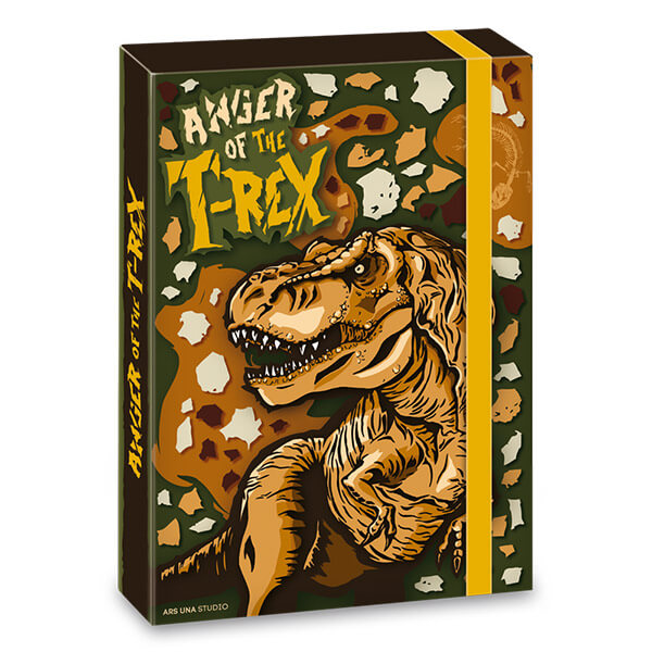 ee0251e82635 T-Rex Dinós füzetbox - A5
