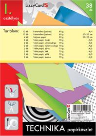 Technikai papírkészlet 1. osztályos csomag