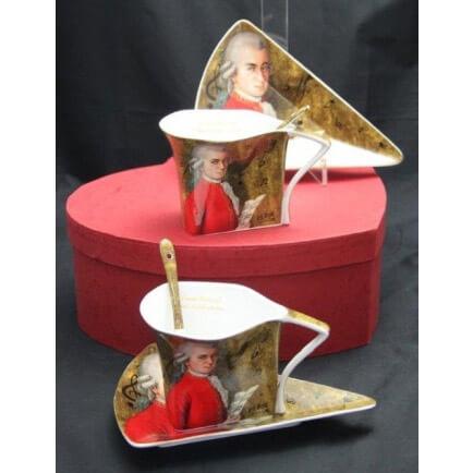 Mozart porcelán kávéskészlet - 2 személyes
