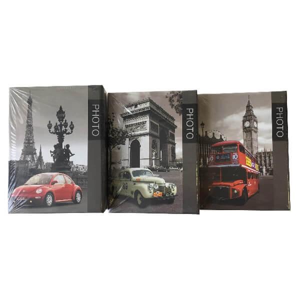 Világ városai kisméretű fényképalbum - 9x13 - 100 darabos