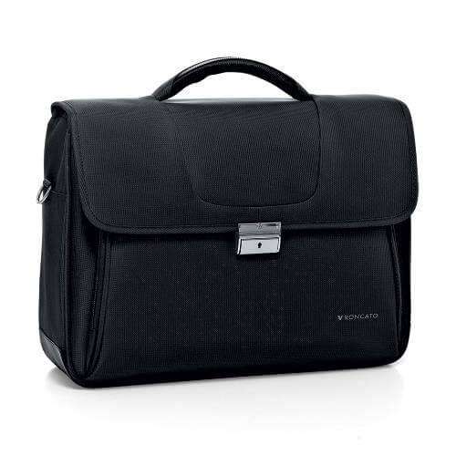 Roncato akta- és laptoptáska - fekete - R-2250-01 - fddd6a82c5